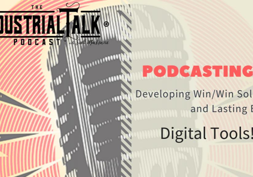 Podcast 101 - Digital tools graphic